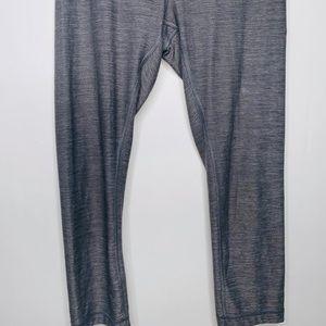 lululemon athletica Pants - Lululemon Women's Gray 3/4 Length Yoga Leggings 4